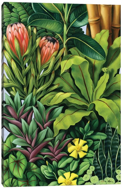 Foliage III Canvas Art Print