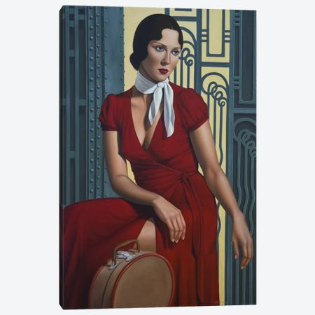 Gare de l'Est Canvas Print #CAB15} by Catherine Abel Canvas Wall Art