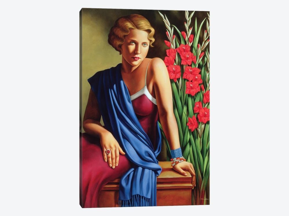 Girl With The Scarab Ring by Catherine Abel 1-piece Art Print