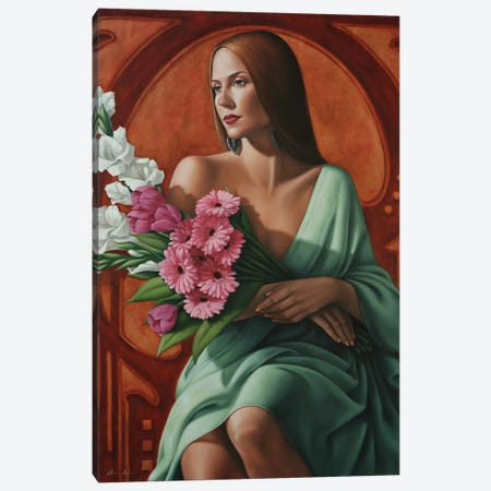 Grace Canvas Print #CAB17} by Catherine Abel Canvas Wall Art