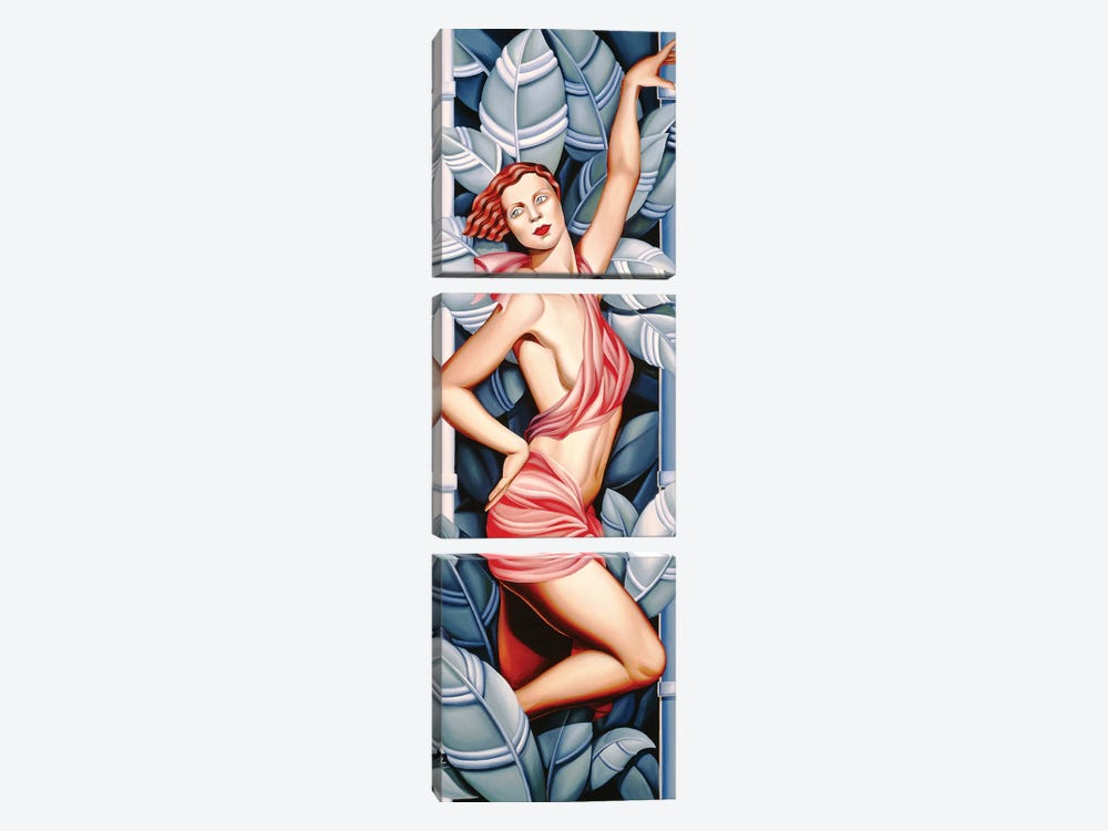 In The Forest by Catherine Abel 3-piece Canvas Artwork