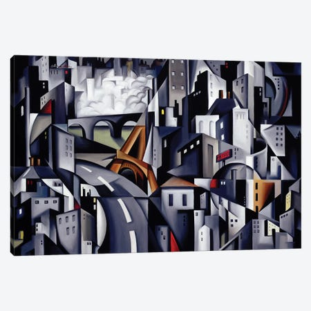 La Rive Gauche Canvas Print #CAB22} by Catherine Abel Canvas Art