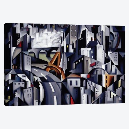 La Rive Gauche Canvas Print #CAB22} by Catherine Abel Canvas Art