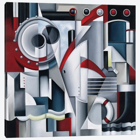 Maiden Voyage Canvas Print #CAB24} by Catherine Abel Canvas Print