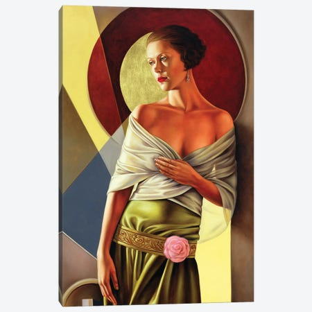Reflections Of Grace Canvas Print #CAB26} by Catherine Abel Canvas Art Print