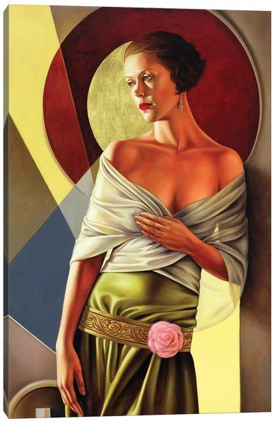 Reflections Of Grace Canvas Art Print