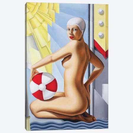 Sun Worshipper I Canvas Print #CAB29} by Catherine Abel Canvas Art
