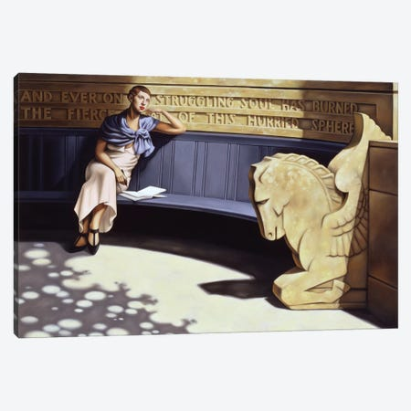 All My Days Canvas Print #CAB2} by Catherine Abel Canvas Artwork