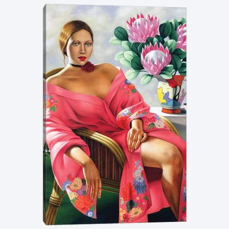 Tea, Late Afternoon Canvas Print #CAB30} by Catherine Abel Art Print