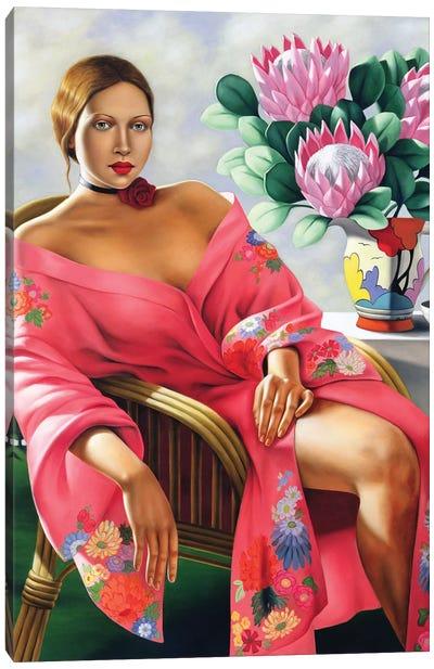 Tea, Late Afternoon Canvas Art Print