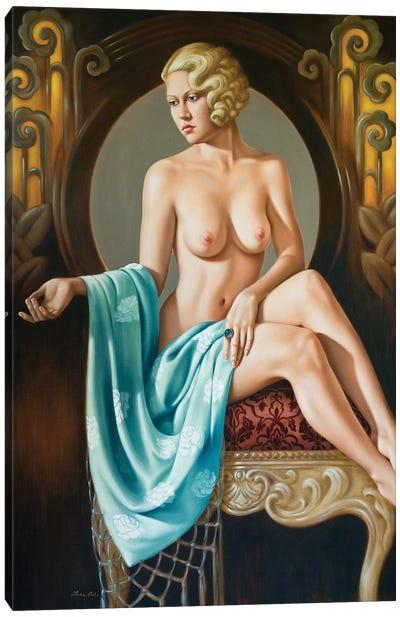 Chez Agnes  Canvas Art Print