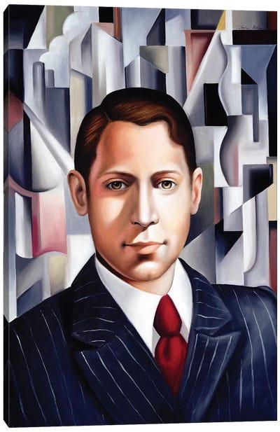L'Homme d'Affair  Canvas Art Print