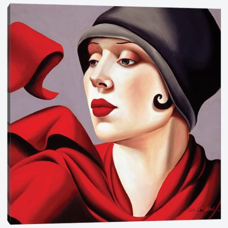 Autumn Zephyr Canvas Print #CAB3} by Catherine Abel Canvas Wall Art