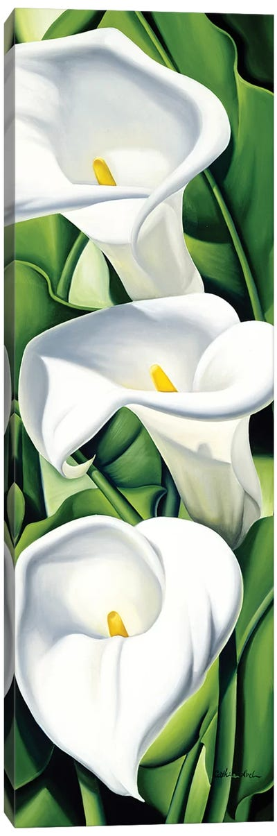 Lilies  Canvas Art Print