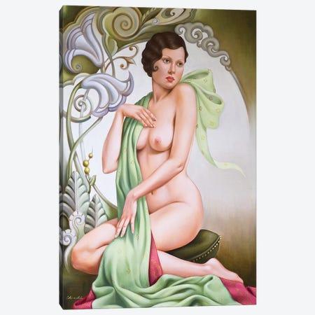 Petite Libellule  Canvas Print #CAB44} by Catherine Abel Canvas Print