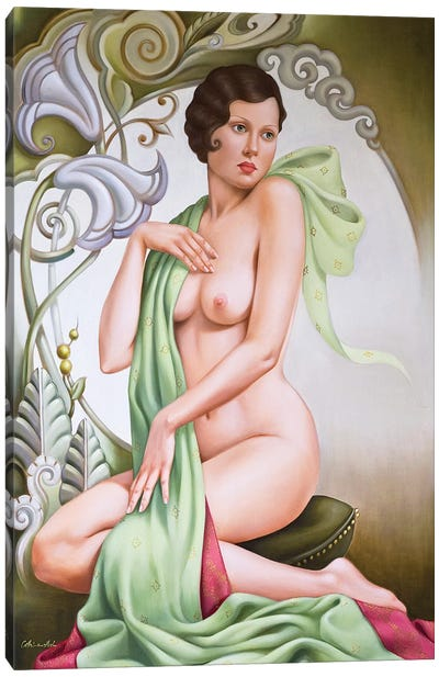 Petite Libellule  Canvas Art Print