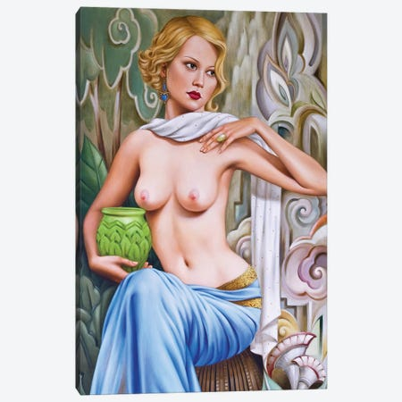 Primavera  Canvas Print #CAB46} by Catherine Abel Canvas Art Print