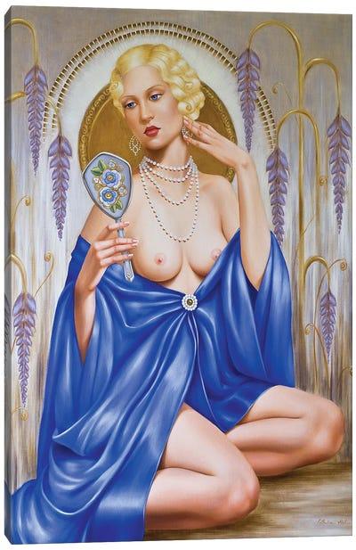 Rhapsody in Blue  Canvas Art Print