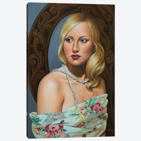 Sarah  Canvas Print #CAB48} by Catherine Abel Canvas Wall Art