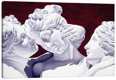 Three Graces  Canvas Art Print