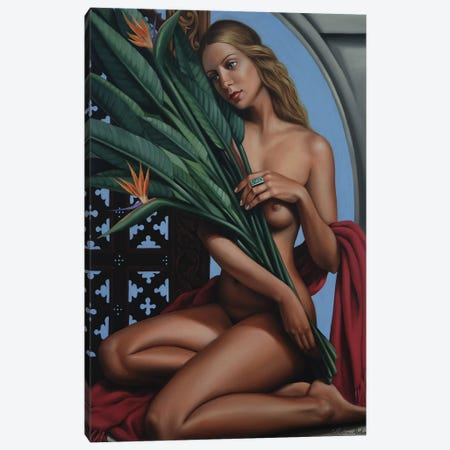 Bird Of Paradise Canvas Print #CAB7} by Catherine Abel Canvas Print
