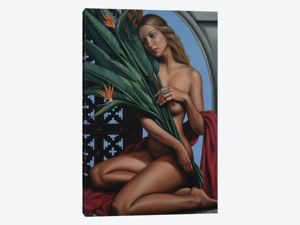 Bird Of Paradise by Catherine Abel 1-piece Canvas Art Print