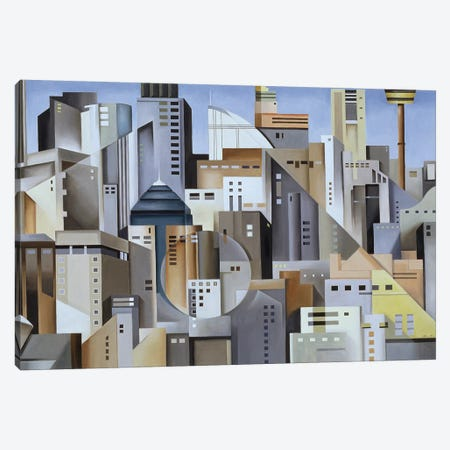 Composition Looking East Canvas Print #CAB9} by Catherine Abel Canvas Artwork
