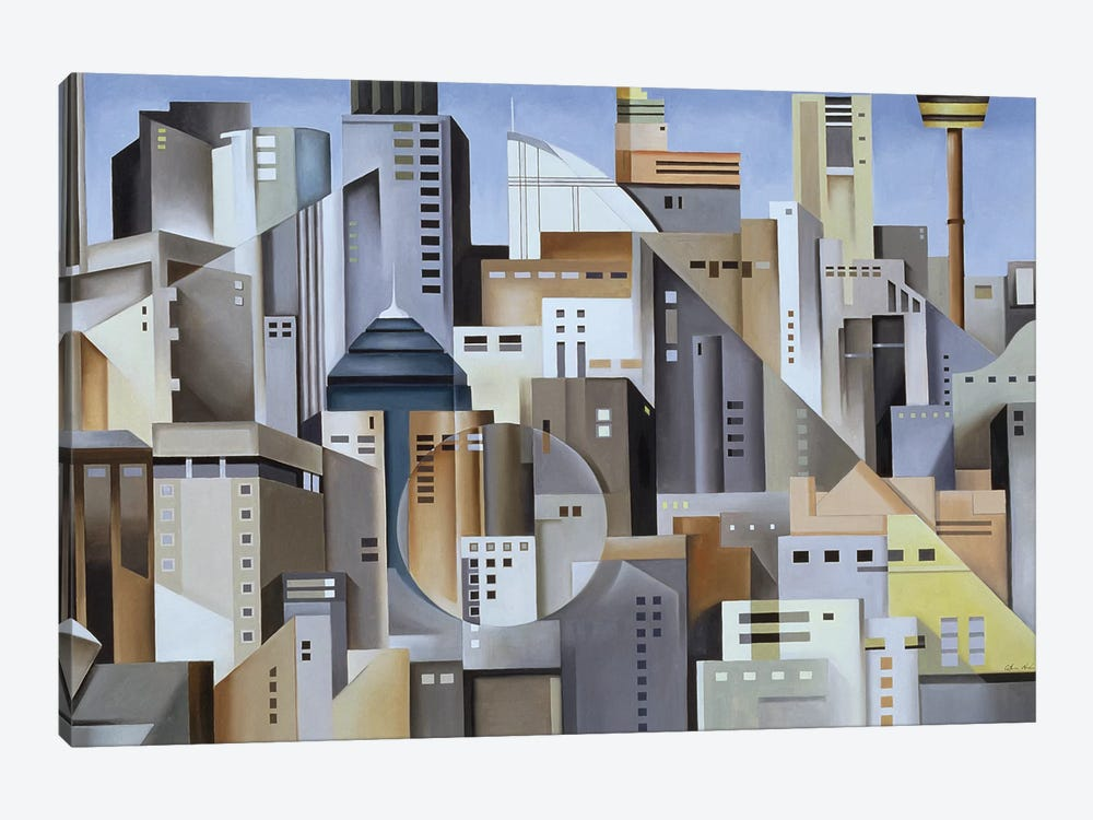 Composition Looking East by Catherine Abel 1-piece Canvas Print