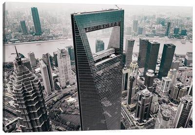 Shanghai World Financial Center Canvas Art Print