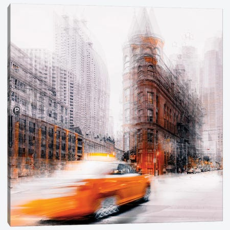 Taxi Canvas Print #CAC16} by Carmine Chiriaco Canvas Print