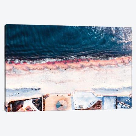 On The Sea Shore Canvas Print #CAC17} by Carmine Chiriaco Canvas Print