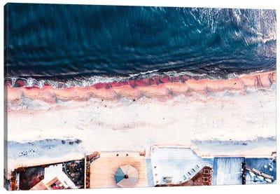 On The Sea Shore Canvas Art Print
