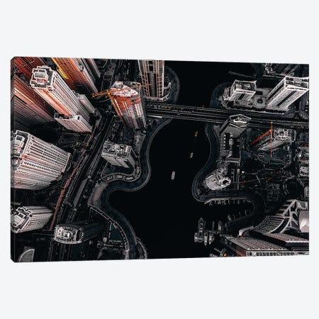 Dubai Marina III Canvas Print #CAC20} by Carmine Chiriaco Art Print