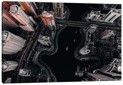Dubai Marina III Canvas Art Print