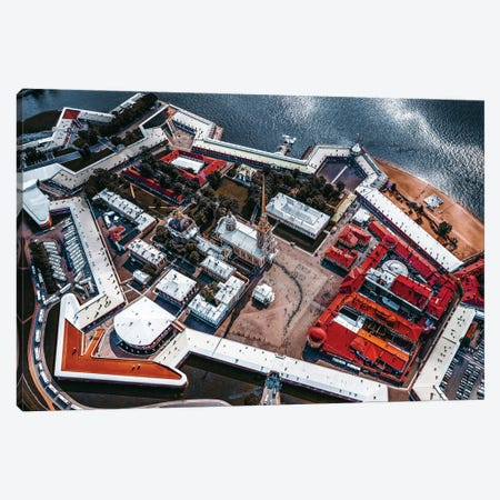 Peter And Paul Fortress Canvas Print #CAC22} by Carmine Chiriaco Canvas Print