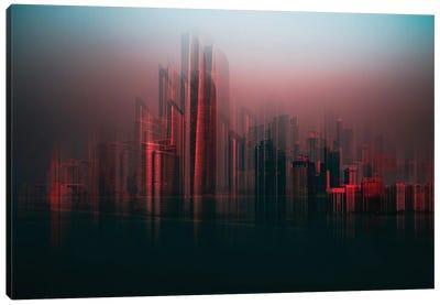 Abu Dhabi Skyline Canvas Art Print