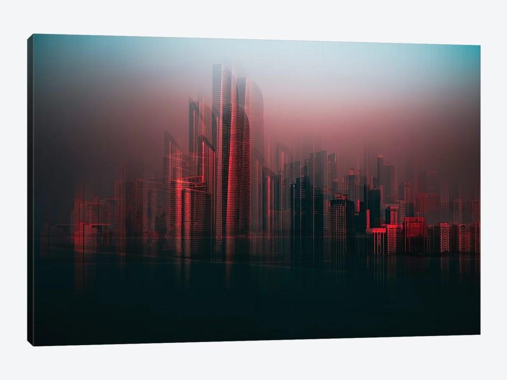Abu Dhabi Skyline by Carmine Chiriaco 1-piece Canvas Print