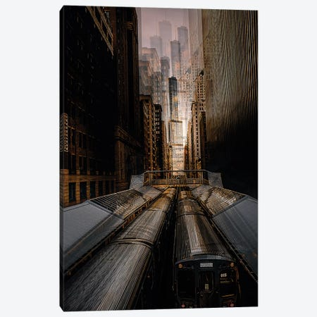 Chicago Station 2 Canvas Print #CAC3} by Carmine Chiriaco Canvas Art Print