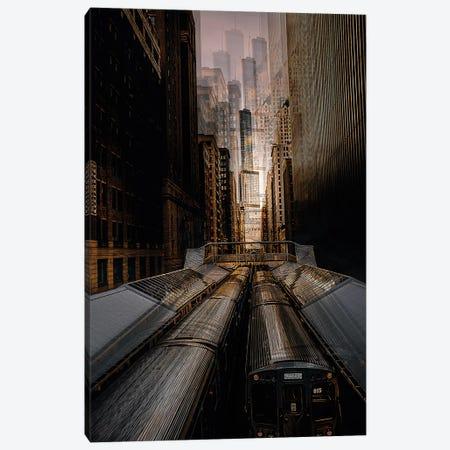 Chicago Station 2 Canvas Print #CAC3} by Carmine Chiriaco Canvas Art Print