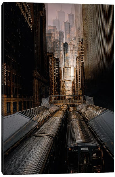 Chicago Station 2 Canvas Art Print