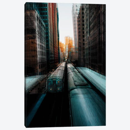 Chicago's Station Canvas Print #CAC4} by Carmine Chiriaco Canvas Art