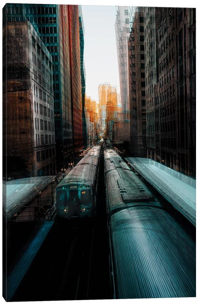 Chicago's Station Canvas Art Print