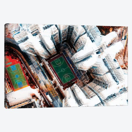 Among Hk Buildings Canvas Print #CAC7} by Carmine Chiriaco Canvas Art