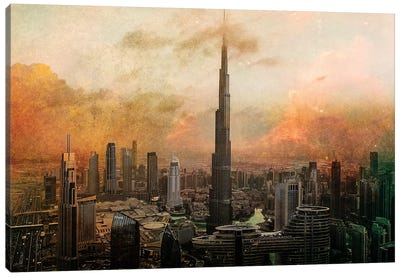Burj Khalifa Canvas Art Print