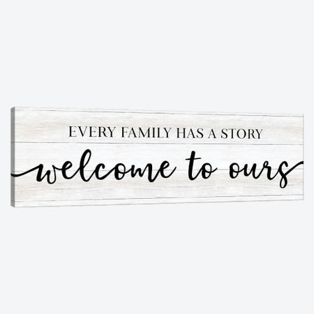 Family Story Canvas Print #CAD109} by CAD Designs Canvas Art Print