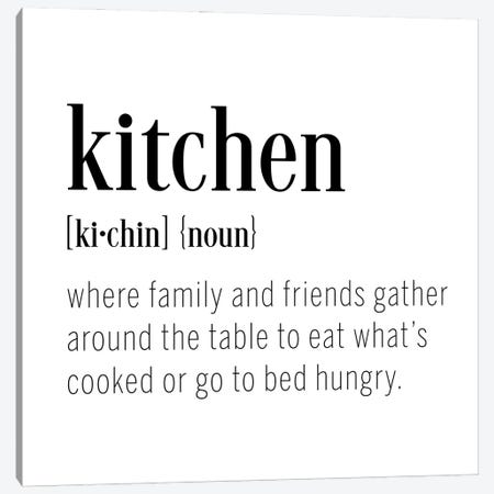 Kitchen Definition Canvas Print #CAD110} by CAD Designs Canvas Wall Art