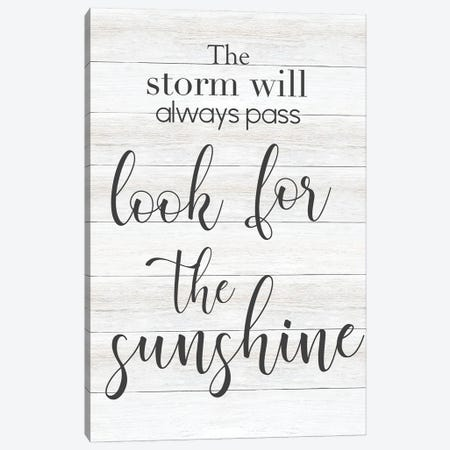 Look for the Sunshine Canvas Print #CAD111} by CAD Designs Canvas Artwork