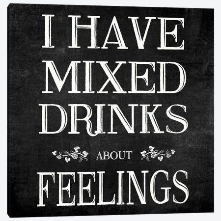 Mixed Drinks Canvas Print #CAD112} by CAD Designs Canvas Wall Art