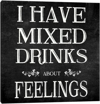 Mixed Drinks Canvas Art Print
