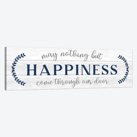 Nothing But Happiness Canvas Print #CAD114} by CAD Designs Canvas Art Print